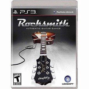 Usado Jogo PS3 Rocksmith - Ubisoft