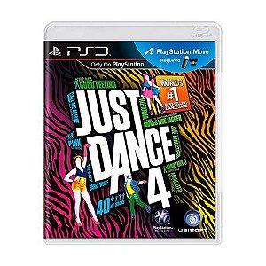 Usado Jogo PS3 Just Dance 4 - Ubisoft