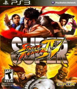 Usado Jogo PS3 Super Street Fighter IV - Capcom