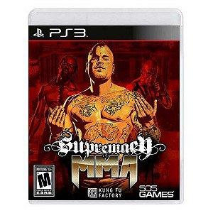 Usado Jogo PS3 Supremacy MMA - 505 Games