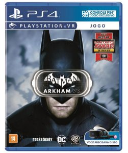 Jogo VR PS4 Batman Arkham - Warner Bros