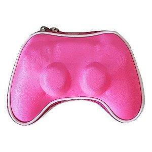 Case Capa Protetora para Controle PS4 Dualshock 4 (Rosa)