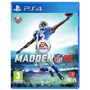 Jogo PS4 Madden NFL 16 - EA Sports