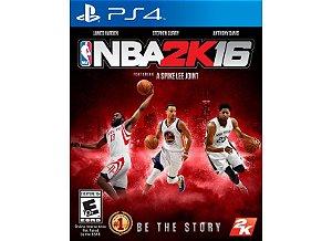 Jogo PS4 NBA 2k16 - 2K