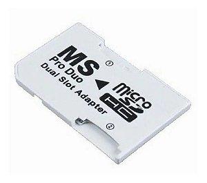 Usado Acessório Adaptador Micro SD Duo para PSP - Importado