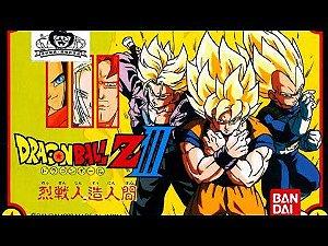 Usado Jogo Famicom Dragon Ball Z 3 Ressen Jinzou Ningen | Japonês - Bandai