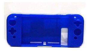 Capa Case Silicone Console Nintendo Switch - Azul