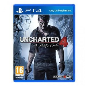 Usado Jogo PS4 Uncharted 4: A Thief's End - Sony