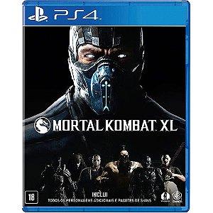 Usado Jogo PS4 Mortal Kombat XL - Warner Bros Games