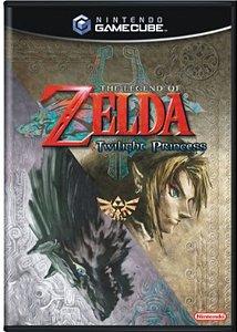 Jogo Gamecube The Legend of Zelda Twilight Princess - Nintendo