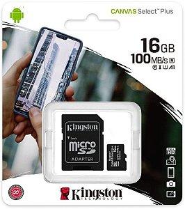Cartão De Memória Micro Sd 16GB - Kingston