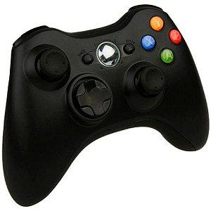 Usado Controle Xbox 360 Preto - Microsoft