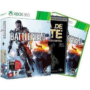 Usado Jogo Xbox 360 BattleField 4 - Edição Especial com Filme Tropa de Elite - EA