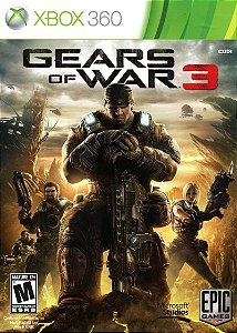 Usado Jogo Xbox 360 Gears of War 3 - Microsoft