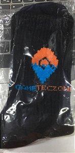 Meia Gameteczone Tamanho Único Preta - Gameteczone