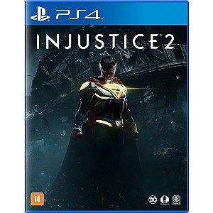 Jogo PS4 Injustice 2 Edição Limitada + Blu-Ray Liga da Justiça Sombria - DC