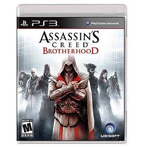 Jogo PS3 Assassins Creed Brotherhood - Ubisoft