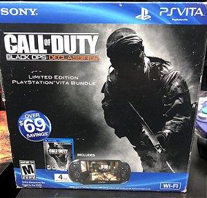 Usado Console PS Vita 4GB PlayStation Portátil Edição COD com caixa e jogo - Sony