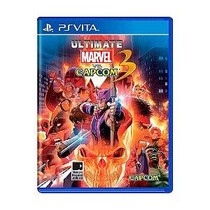 Jogo PS Vita Ultimate Marvel vs Capcom 3 - Capcom