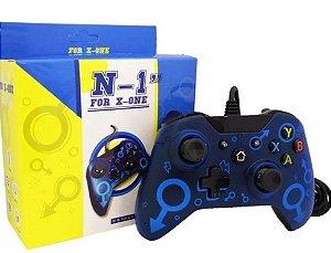 Controle Xbox One e PC com fio USB Preto - N1