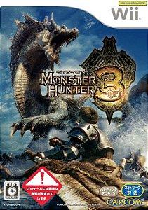Usado Jogo Nintendo Wii Monster Hunter 3 Tri Japones - Capcom
