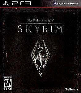 Usado Jogo PS3 The Elder Scrolls V Skyrim - Bethesda