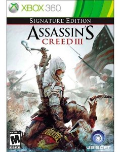 Usado Jogo Xbox 360 Assassins Creed III - Signature Edition - Ubisoft