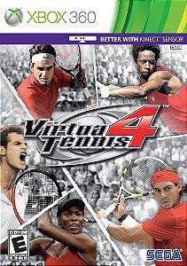 Usado Jogo Xbox 360 Virtua Tennis 4 - Sega