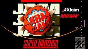 Jogo Super Nintendo Nba Jam | Na Caixa - Midway