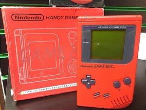 Usado Console Game Boy Classic Vermelho DMG-S-RA Japones Na Caixa - Nintendo