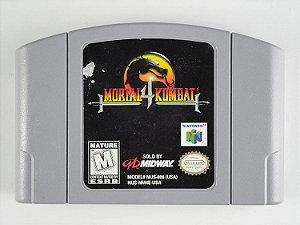 Usado Jogo Nintendo 64 Mortal Kombat 4 - Midway