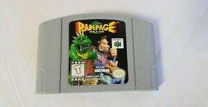 Usado Jogo Nintendo 64 Rampage World Tour | Somente o Jogo - Konami