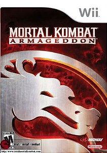 Jogo Nintendo Wii Mortal Kombat Armageddon - Midway