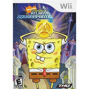 Usado Jogo Nintendo Wii Nickelodeon Spongebob's Atlantis Squarepantis - THQ