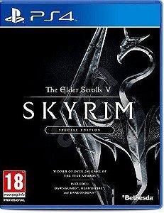 Usado Jogo PS4 The Elder Scrolls V Skyrim Especial Edition - Bethesda