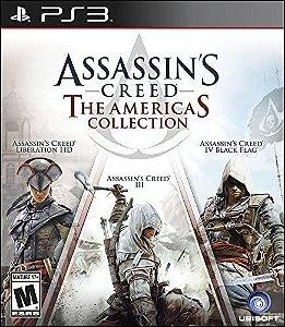 Usado Jogo PS3 Assassins Creed - The Americas Collection - Ubisoft
