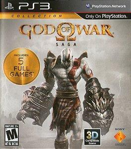 Usado Jogo PS3 God of War Saga - Sony