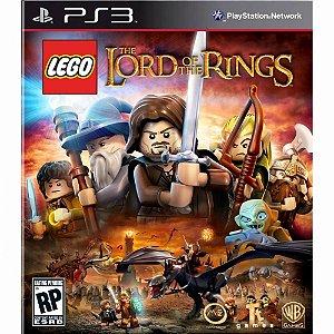 Usado Jogo PS3 LEGO O Senhor dos Anéis - Warner Bros Games
