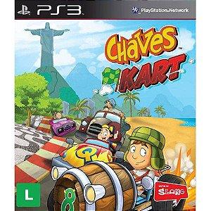 Usado Jogo PS3 Chaves Kart - Slang