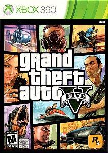 Jogo Xbox 360 Grand Theft Auto V GTA 5 - Rockstar
