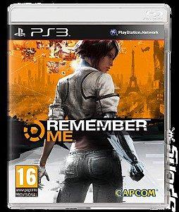 Jogo PS3 Remember Me - Capcom