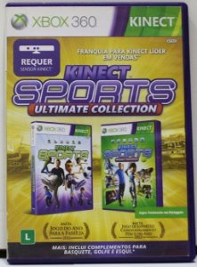 Usado Jogo Xbox 360 Kinect Sports: Ultimate Collection - Microsoft