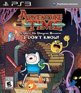 Usado Jogo PS3 Adventure Time Explore The Dungeon Because I Don't Know! - D3 Publisher