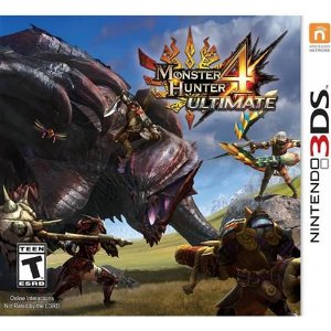 Usado Jogo Nintendo 3DS Monster Hunter 4 Ultimate - Capcom