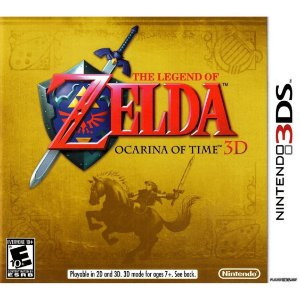 Usado Jogo Nintendo 3DS The Legend of Zelda: Ocarina of Time 3D - Nintendo