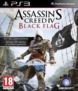 Usado Jogo PS3 Assassins Creed 4 Black Flag - Ubisoft