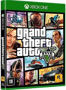 Usado Jogo Xbox One Grand Theft Auto V GTA 5 - Rockstar