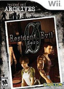 Usado Jogo Nintendo Wii Resident Evil Zero 0 RE Archives - Capcom