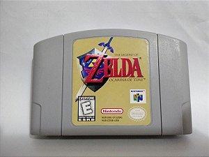 Usado Jogo Nintendo 64 The Legend Of Zelda Ocarina of Time - Nintendo