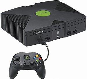 Usado Console Xbox Clássico c/ Controle  - Microsoft
